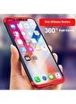Microsonic iPhone XS Kılıf Double Dip 360 Protective  Siyah